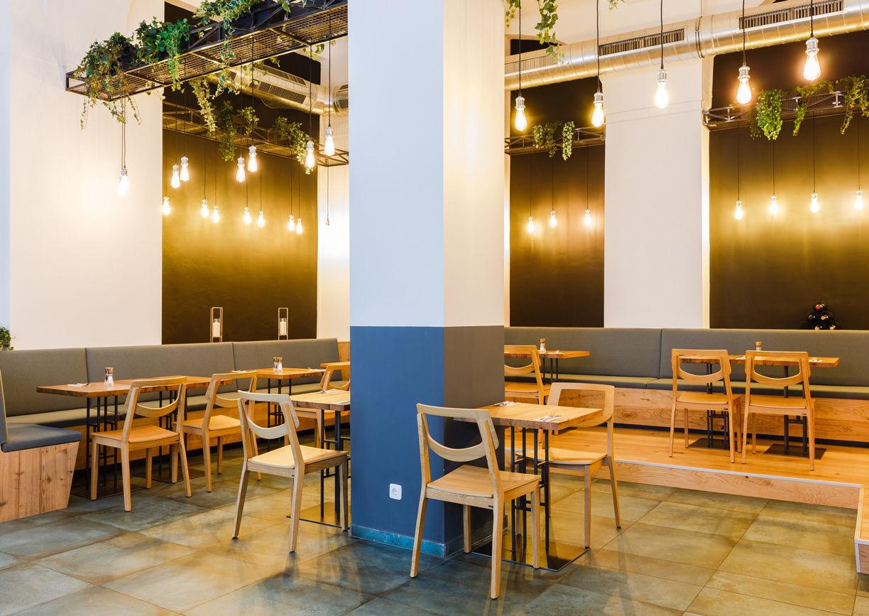 Restaurant Leto Wien Innenansicht