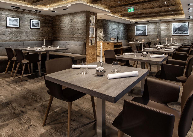 Restaurant Stüva Hotel Yscla Ischgl Innenansicht