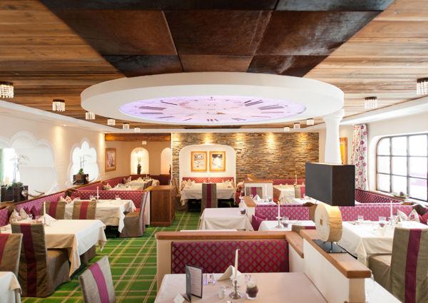 Restaurantbereich, Hotel Kesselspitze