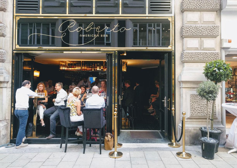 Roberto American Bar Wien Aussenansicht
