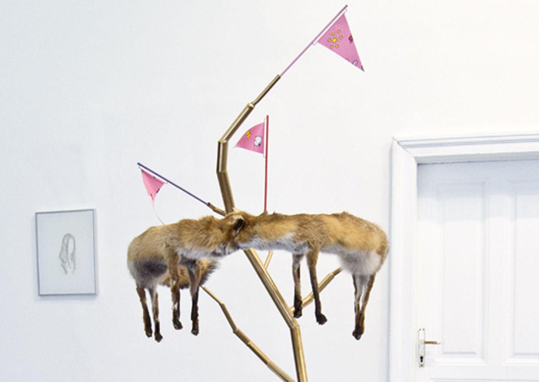 Roland Reiter, Raimund Deininger Gallery, Wien, Ghost Skin in the Fun House