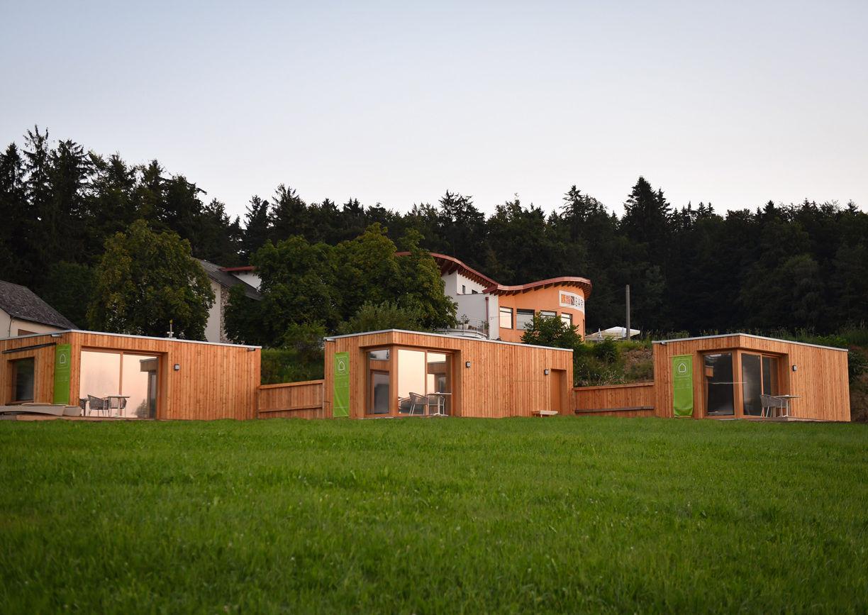 Roo'n Lodges Bärenhof Kolm Arbesbach Aussenansicht