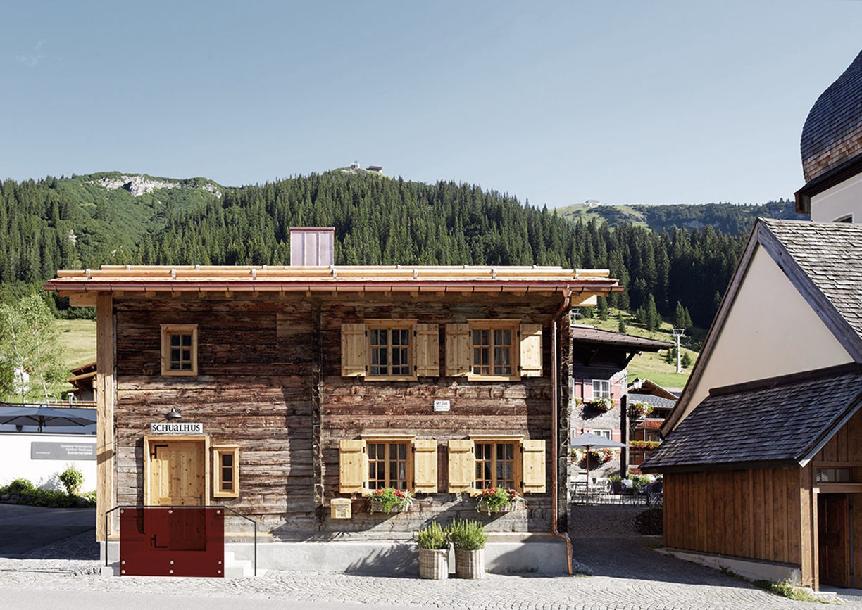 Rote Wand Schualhus Lech Arlberg