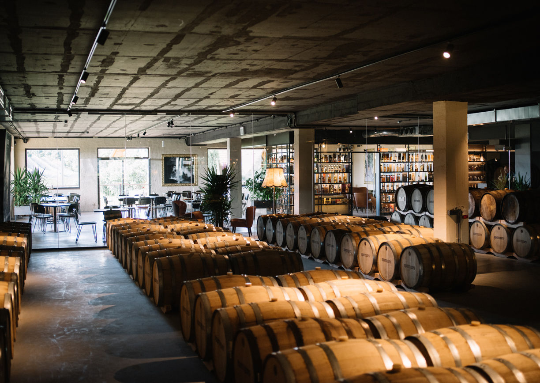 Ruotker's House of Whiskey, Gin & Rum Steiermark Innenansicht Lounge