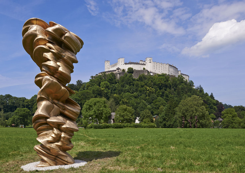 Salzburg, Anthony Cragg, Skulptur, Krauthügel, Salzburg Foundation