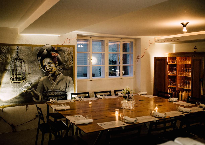 Salzburg, Nonntal, Paradoxon, Restaurant