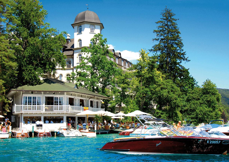 See Ess Spiele Wörthersee Hotel Schloss Seefels