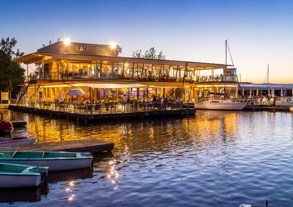 Seerestaurant Katamaran Rust am Neusiedler See Aussenansicht