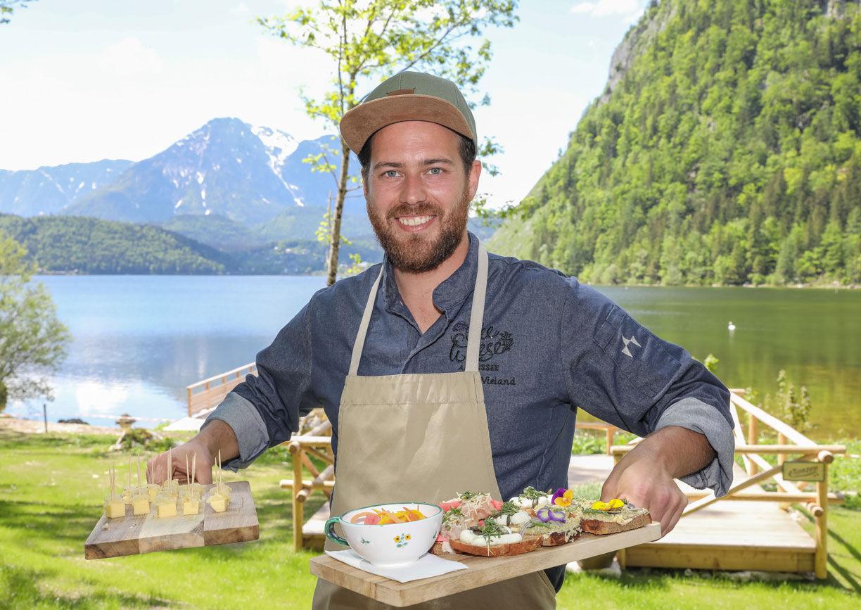 Seewiese Altaussee Küchenchef Stephan Wieland