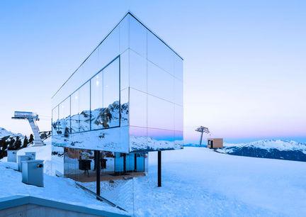 Skigebiet Hochzillertal Kaltenbach Skiurlaub Kristallhütte Aussenansicht