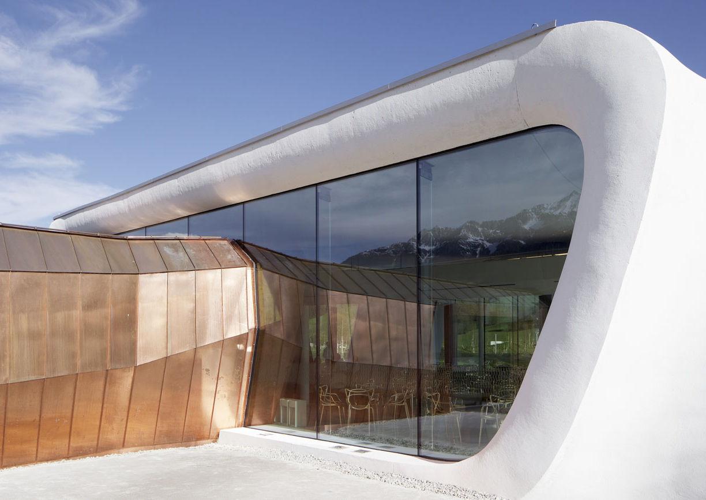 Swarovski Kristallwelten, Wattens, Tirol, Snøhetta, Daniel, Restaurant