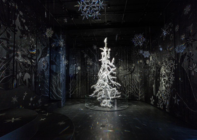 Swarovski Kristallwelten Winter Weihnachten Advent