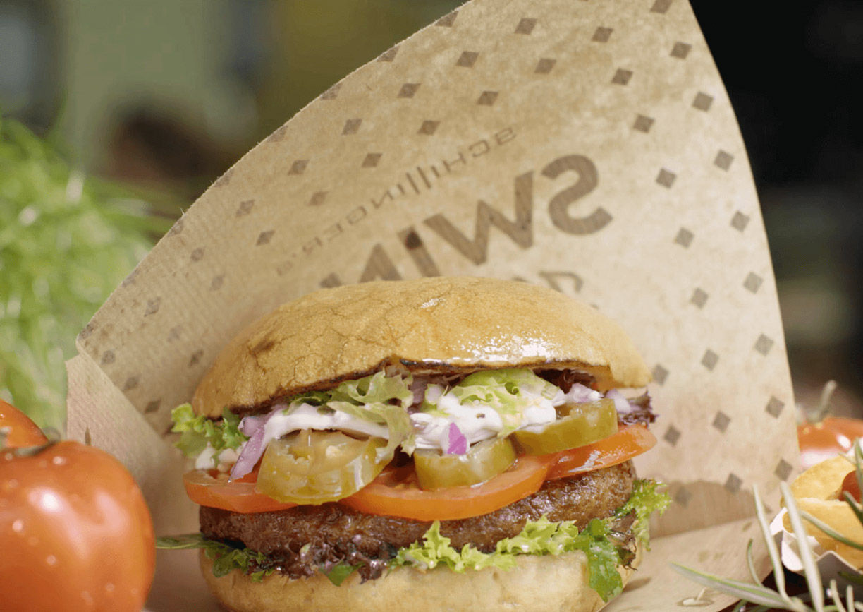 Swing Kitchen Wien Burger vegan