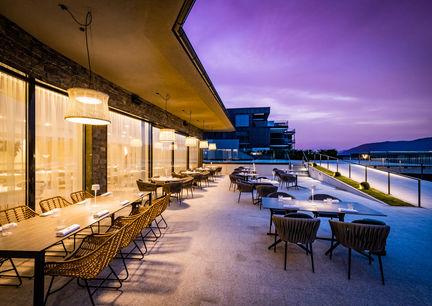 Terrasse vom Restaurant Hubert Wallner
