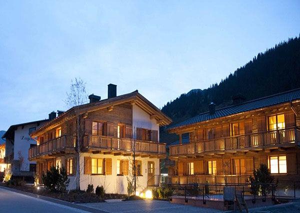 The Chalets in Zug am Arlberg. Betrieben vom Edelhotel Aurelio.