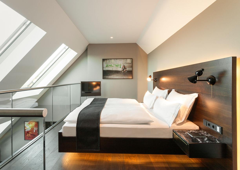The Guesthouse Vienna Hotel Zimmer Innenansicht