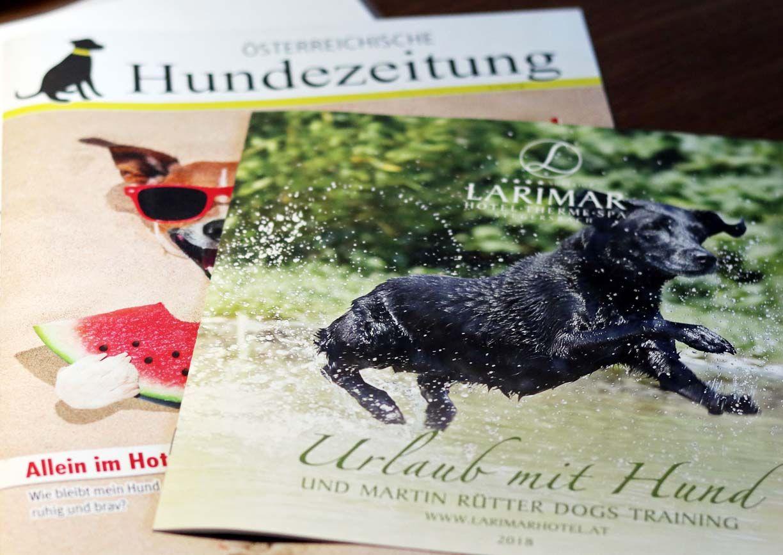 Urlaub mit Hund Hotel Larimar Stegersbach Burgenland