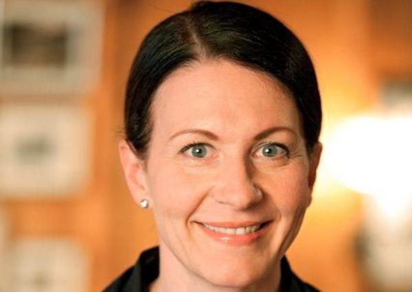 Ursula Werner, die Gastgeberin im Arlberg Hospiz Hotel.