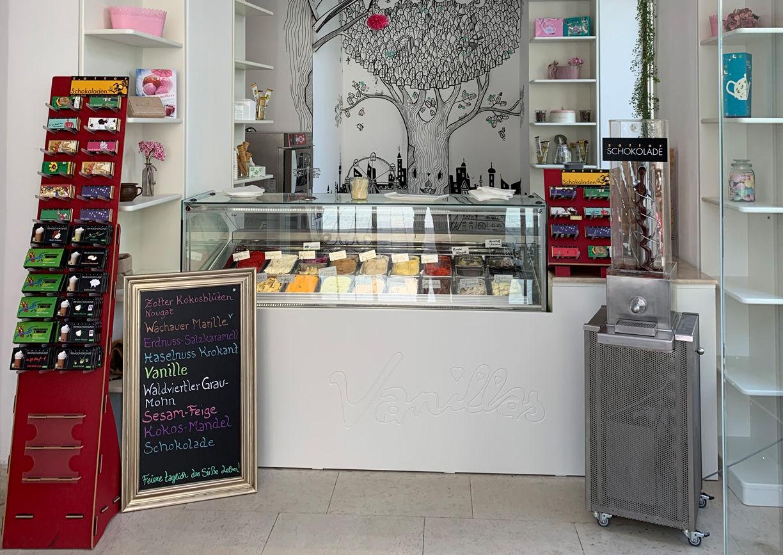 Vanillas Wien Cafe Eissalon Ptisserie