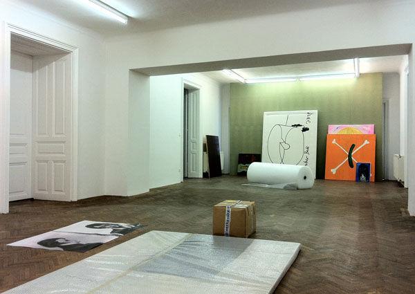Viktor Bucher, Ausstellungsraum