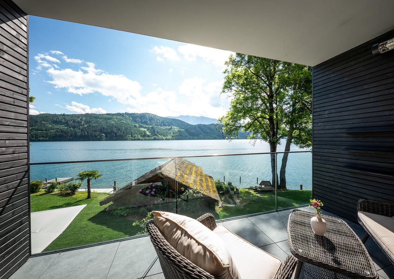 Villa Postillion Millstatt Pool Seeblick