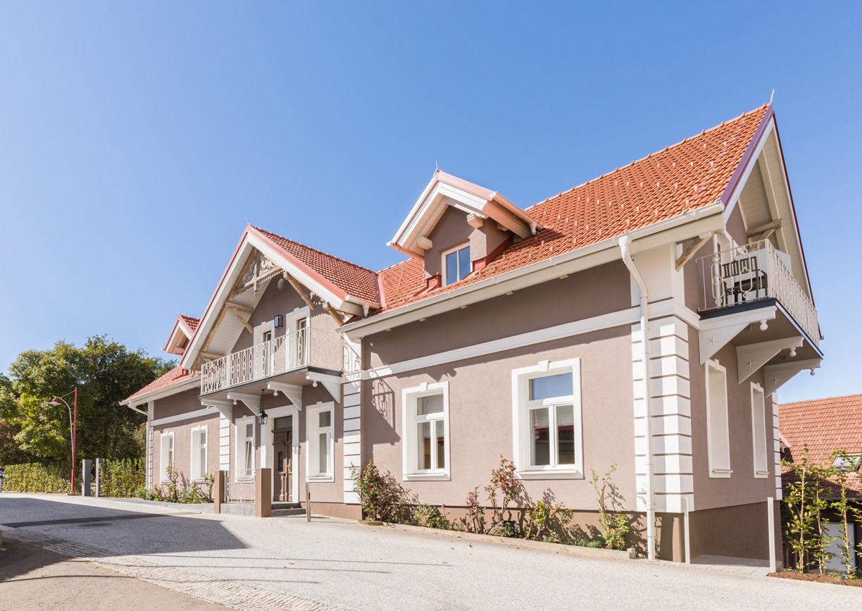 Villa Rosa Trautmannsdorf Boutiquehotel Aussenansicht