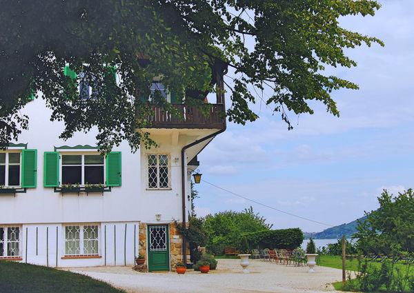 Villa Weiss Attersee Aussenansicht