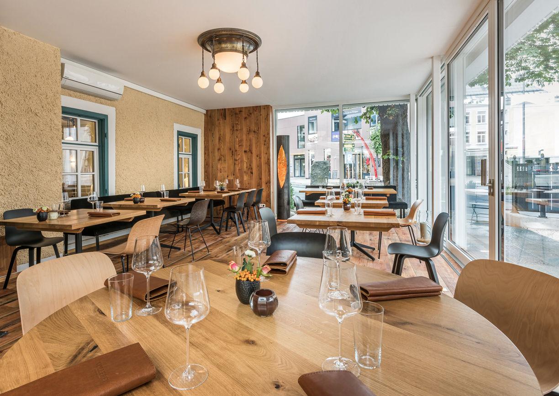 Völlerei Restaurant Bar Saalfelden Innenansicht