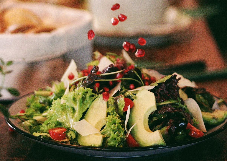 Volee Restaurant Wien Salat