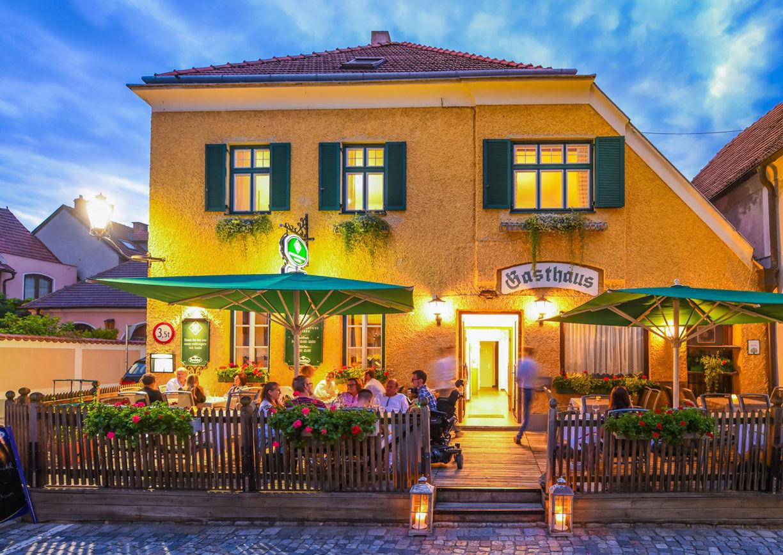 Wachauerstube Restaurant Wachau Dürnstein Aussenansicht