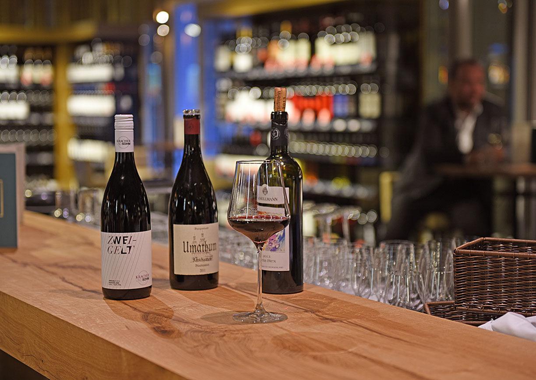 Weinbar Merkur am Graben Wien Innen