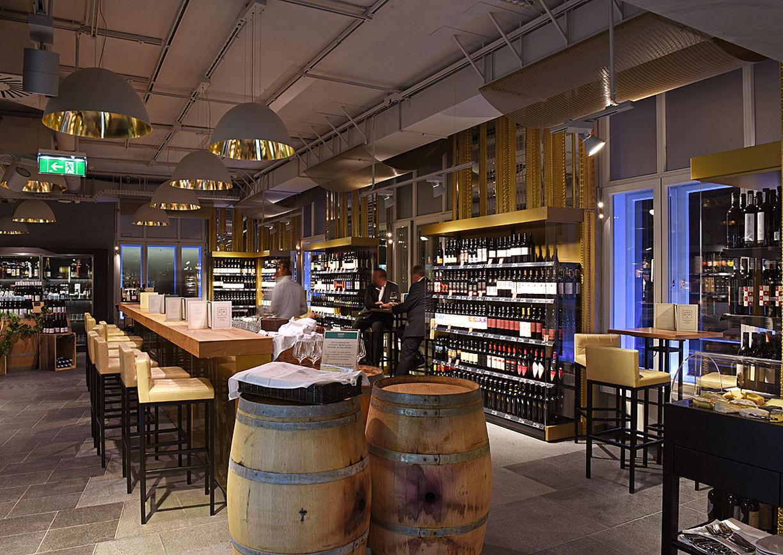 Weinbar Merkur am Hof Wien