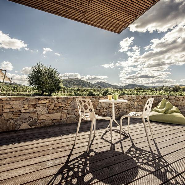 Weingut Hotel Malat Wachau Terrasse