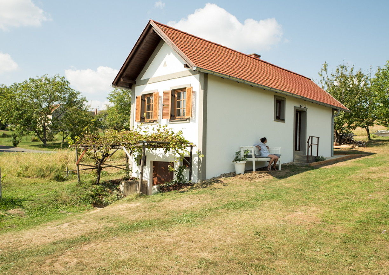 Weinlofts Radlingberg Burgenland außen