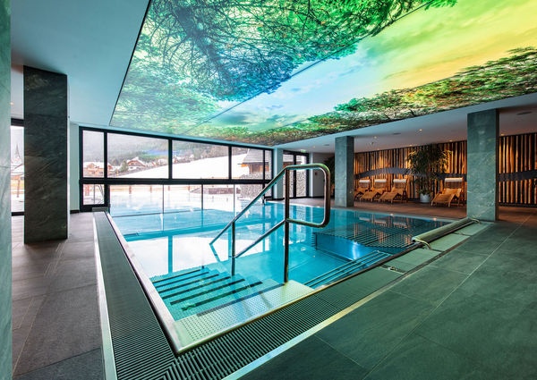 Wellness Hotel Almgut Lungau Salzburger Land Spa Ruheraum