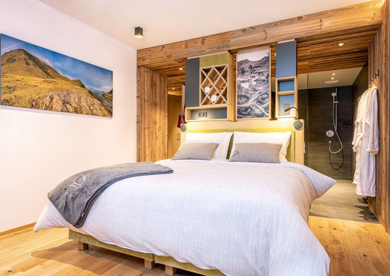 Wellness Hotel Almgut Lungau Salzburger Land Winter Skipiste Berg Aussenansicht
