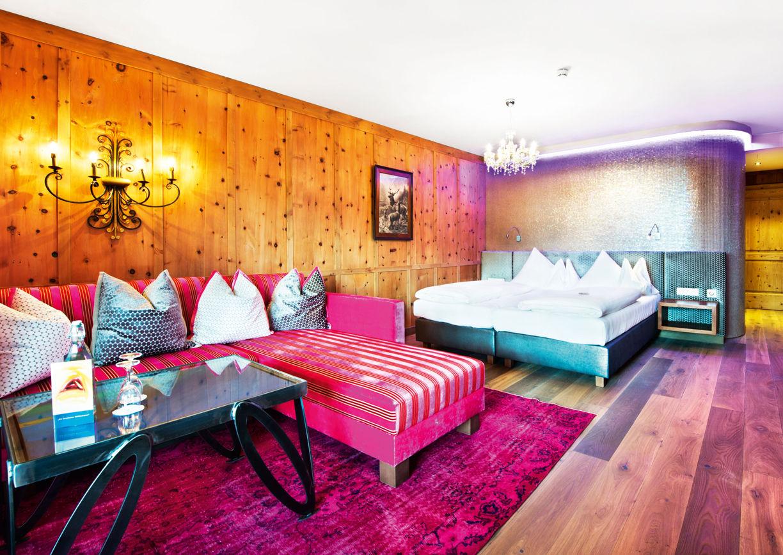Wellness Hotel Krallerhof Leogang Salzburger Land Goethe Zimmer Innenansicht