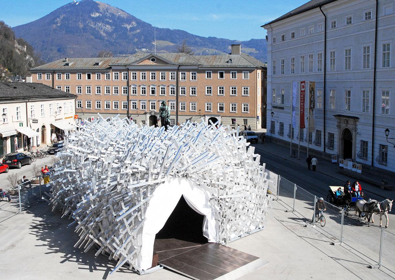 White Noise, Kunstpavillon, Salzburg