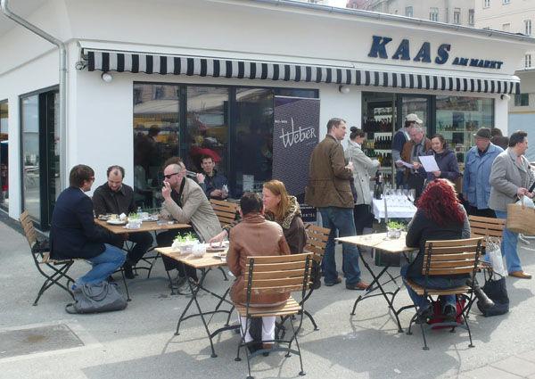 Wien, Karmelitermarkt, Kaas, Isabel, Lokal