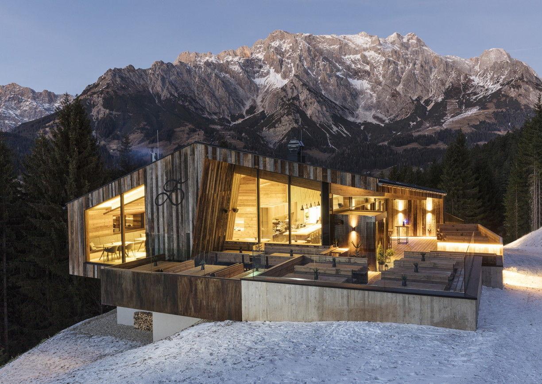Winter Urlaub Ski amade Deantnerin