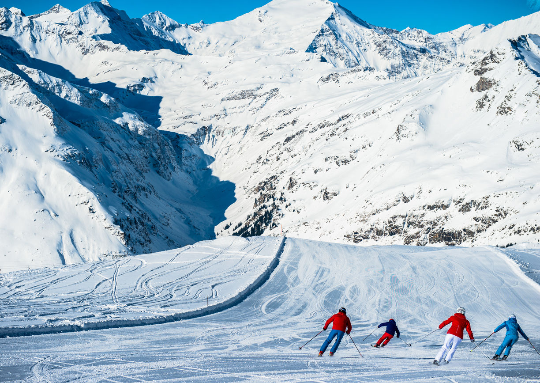 Winter Urlaub Ski amade Salzburger Land Berge