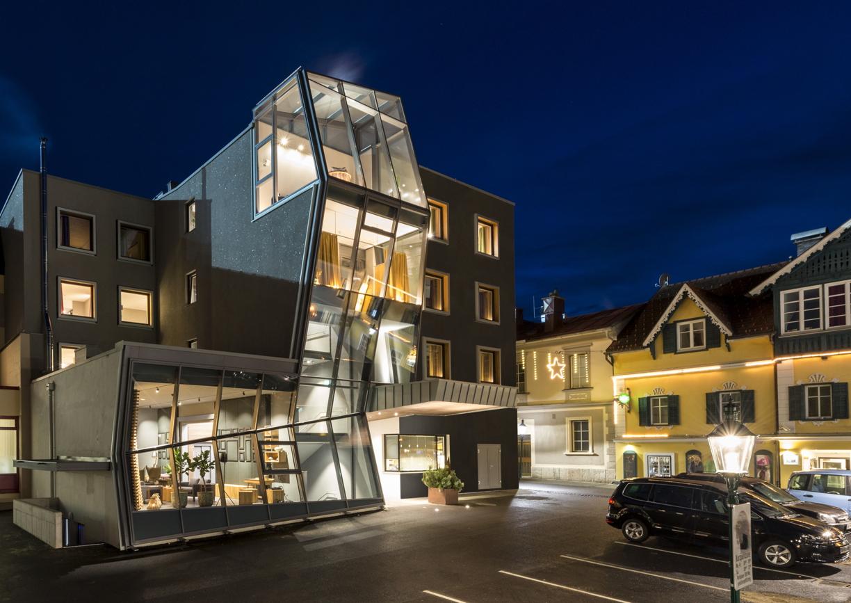 Boutiquehotel Brunner Schladming Aussenansicht