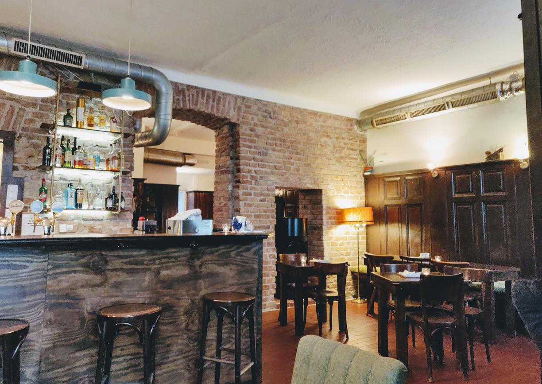Cafe Trabant Wien Währing Innenansicht