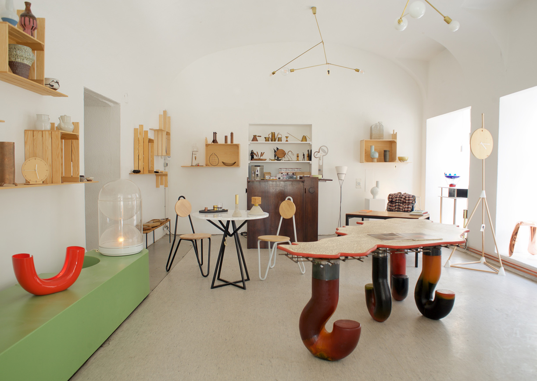 Design&Art Galerie Kunst Wien Innenansicht