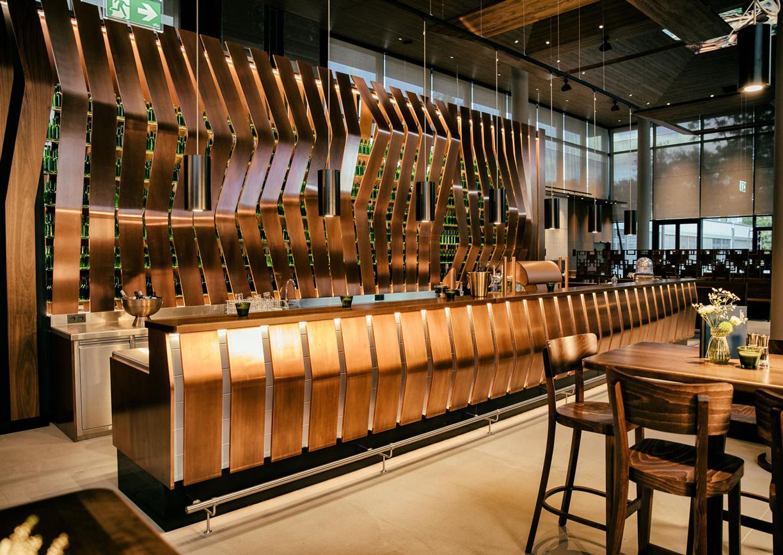 Donaubräu Restaurant Wien Innenansicht Bar