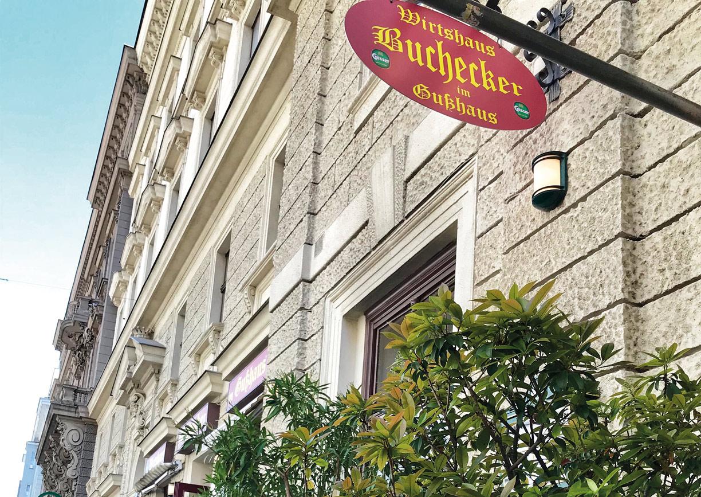 Gasthaus Buchecker & Sohn Gußhaus Wien