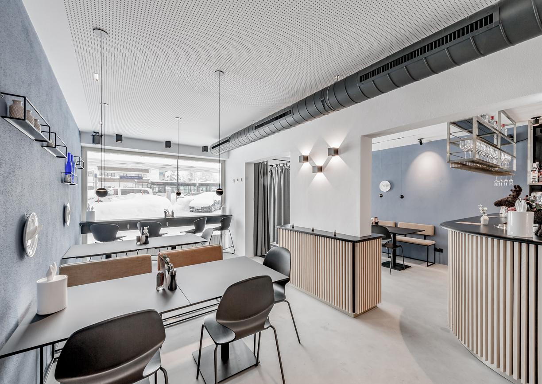 Hotel Das Max Seefeld Tirol Bistro Innenansicht