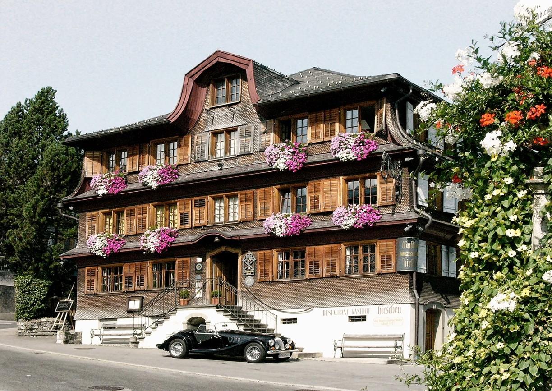 Hotel Gasthof Hirschen Schwarzenberg Bregenzerwald Aussenansicht