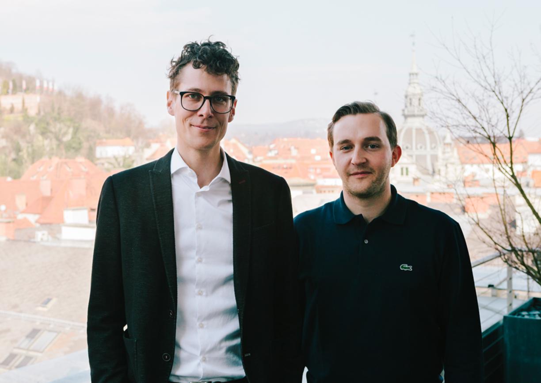 Sebastian Höglinger und Peter Schernhuber Diagonale-Chefs Insidertipps Graz Filmfestival