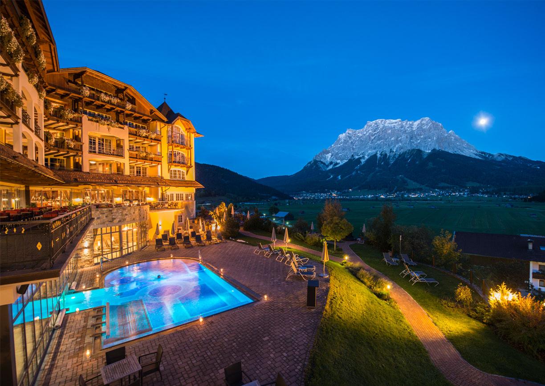 Hotel Post Lermoos Tirol Zugspitze